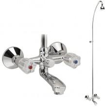 VIDIMA ROSITSA Душ система със смесител за вана и душ B1441AA